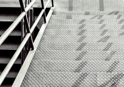 Geluidsisolatie voor stalen trappen