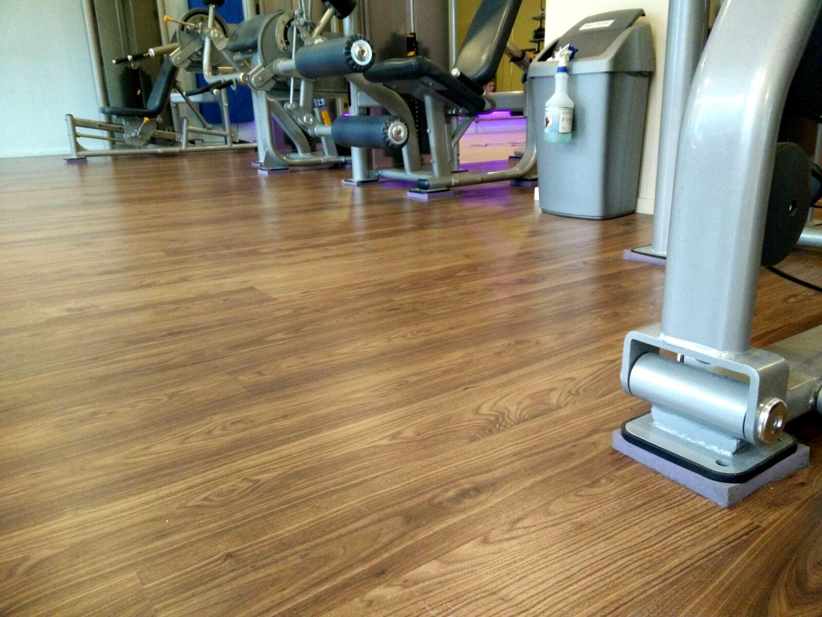 Ontkoppelde fitness apparaten