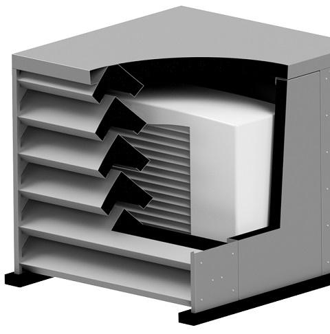 Warmtepomp omkasting